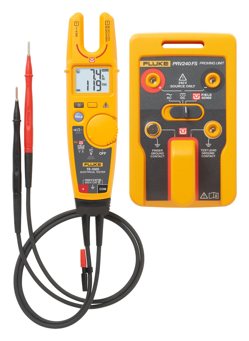 Fluke T6-1000/PRV240FS Electrical Tester with Proving Unit