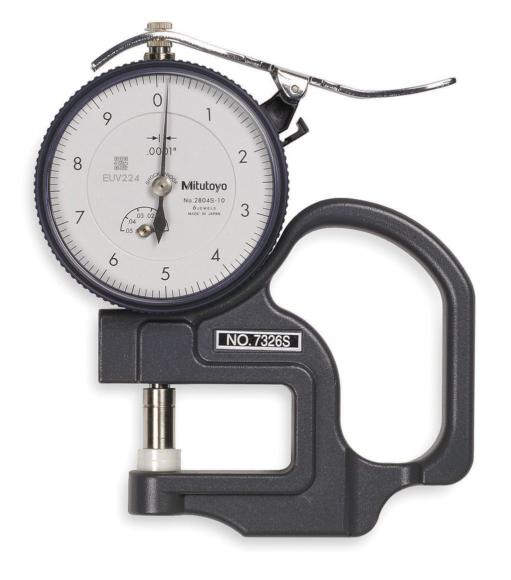 Testex Dial Indicator Thickness Gauge (Inch)