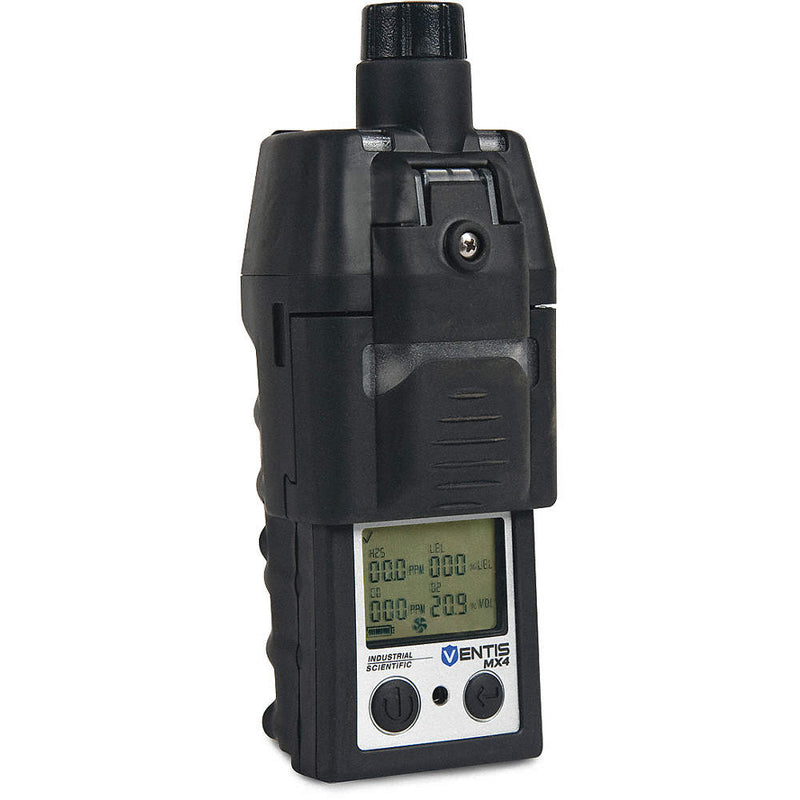 Industrial Scientific Ventis Multi-Gas Detector-LEL,CO,H2S,O2, Ext. Li-ion, Pump w/ Conv. Kit (VTS-K1232120101)