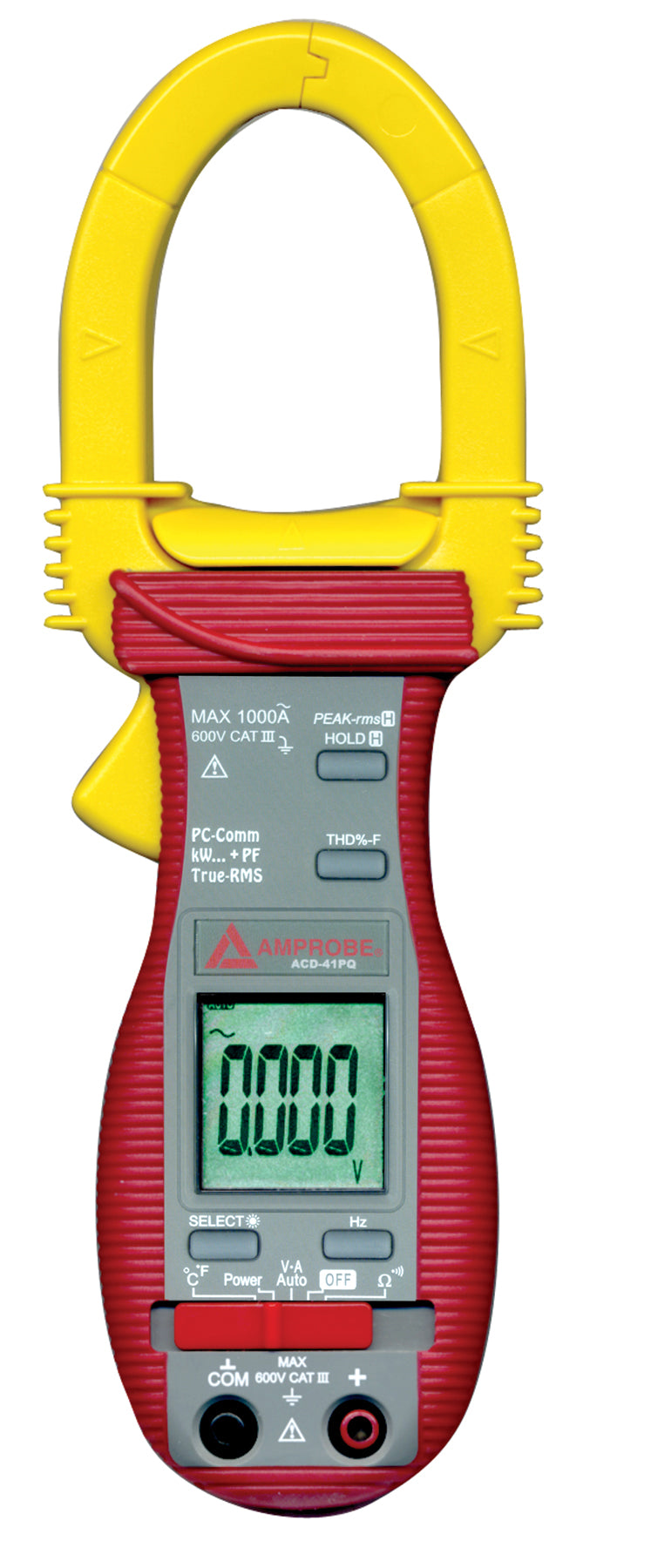 Amprobe ACD-41PQ 1000A Power Quality Clamp Meter with Temperature