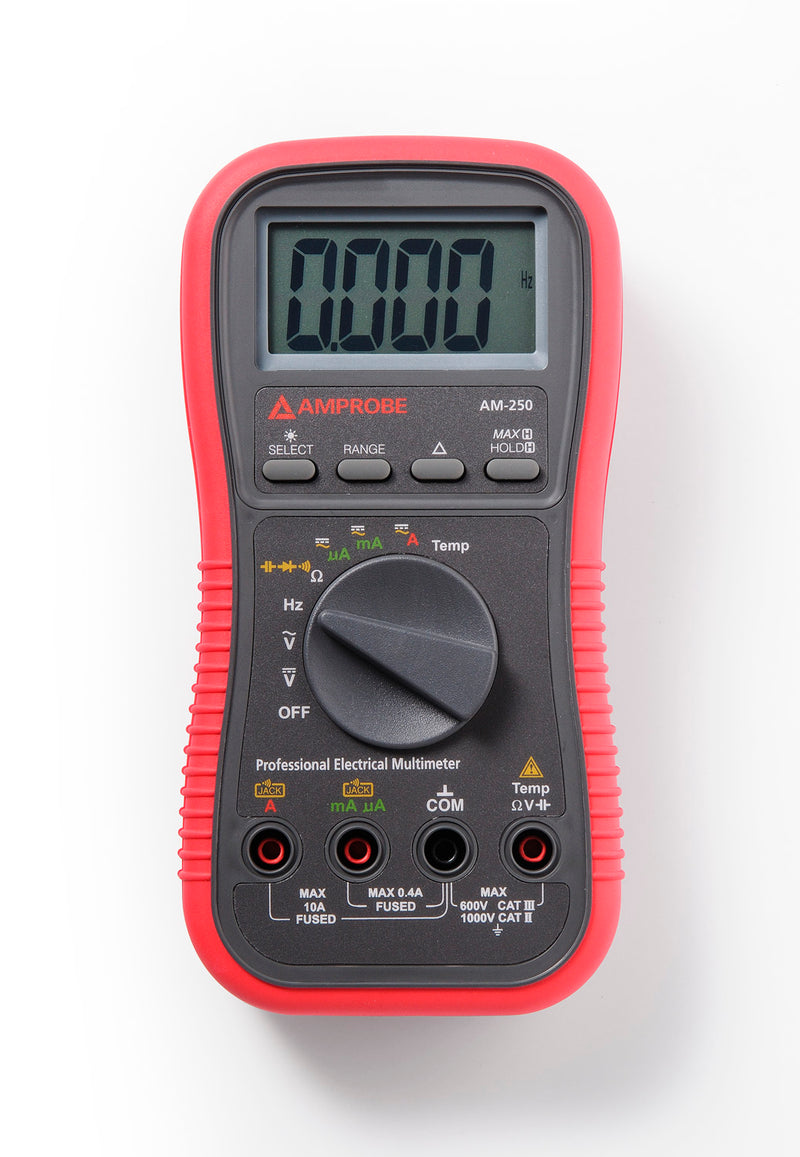Amprobe AM-250 Industrial True-rms Digital Multimeter