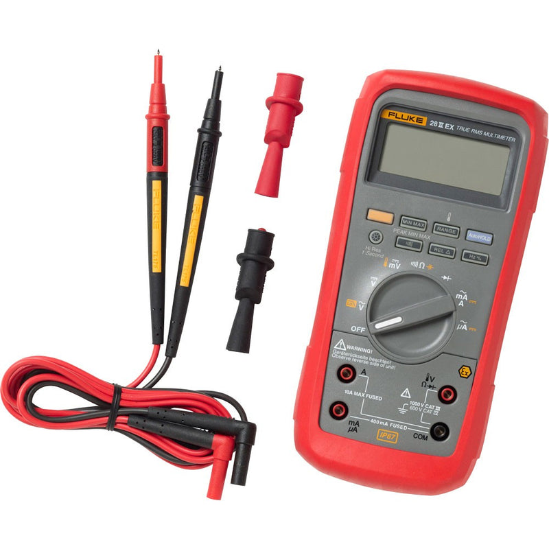 Fluke 28 II Ex Intrinsically Safe True RMS Digital Multimeter
