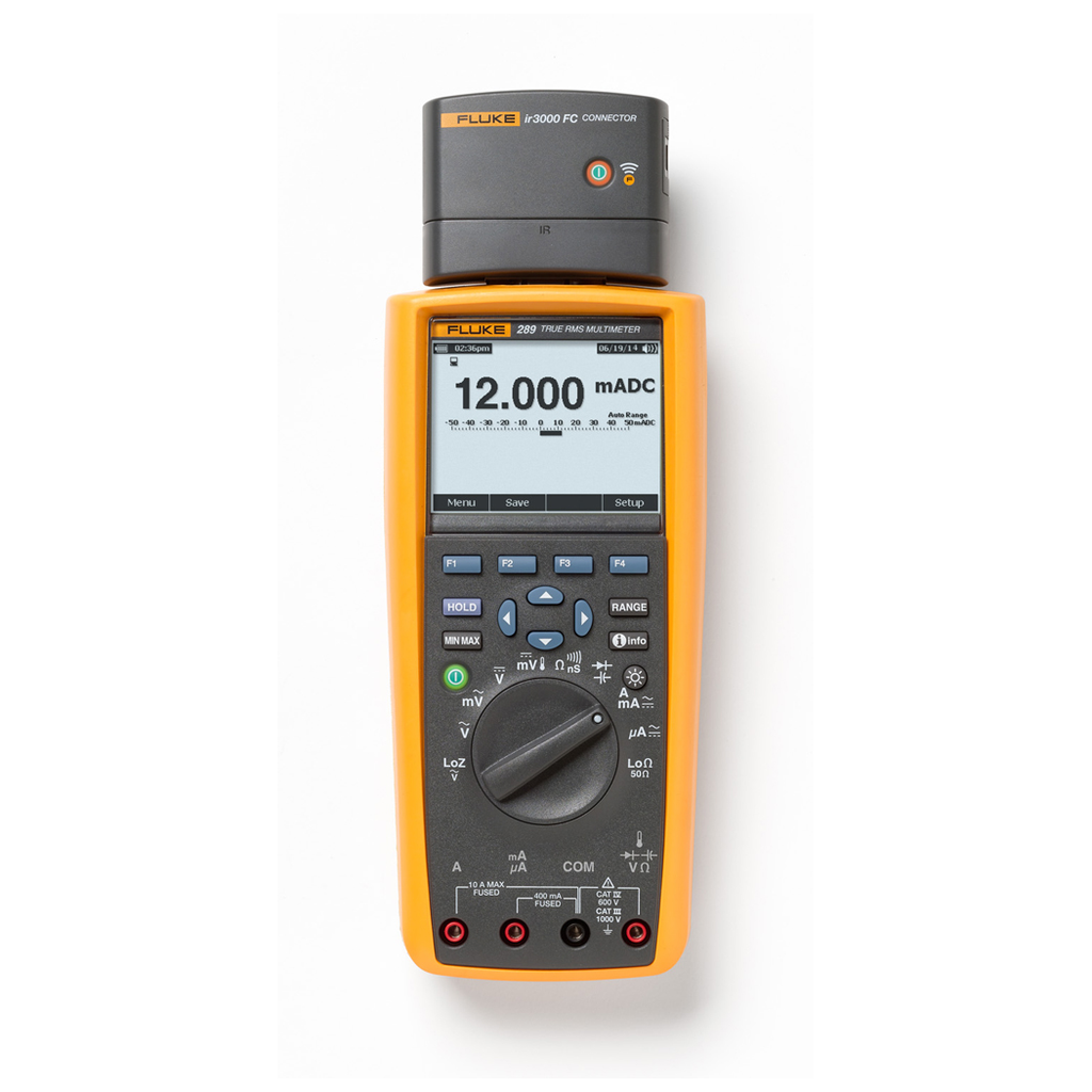 Fluke 289 True-rms Industrial Multimeter with TrendCapture