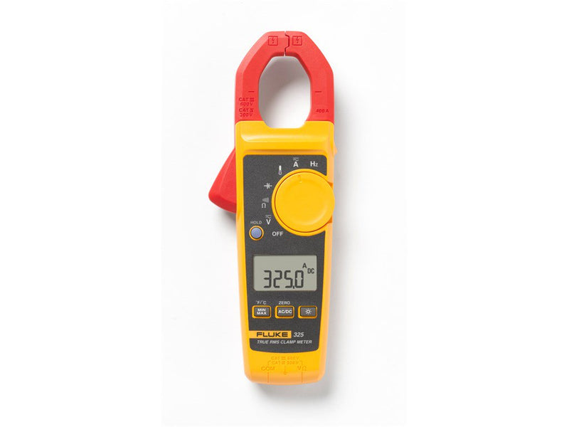 Fluke 325 400A AC/DC True-rms Clamp Meter