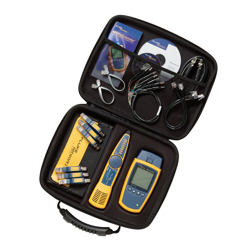 Fluke Networks MicroScanner2 Cable Verifier Kit