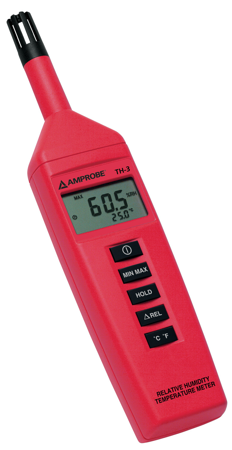 Amprobe TH-3 Relative Humidity Temperature Meter