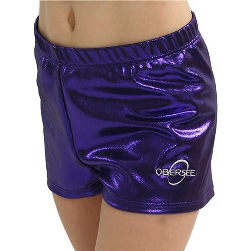 O3GS004AL Obersee Gymnastics Shorts - Purple