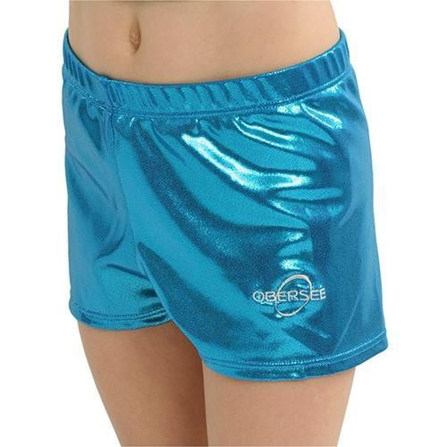 Obersee Gymnastics Shorts - Turquoise - Obersee