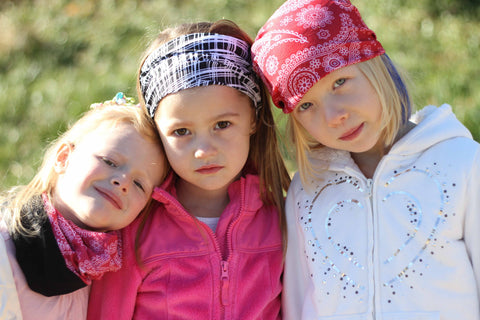 Obersee Kids Rag Tops Convertible Headwear with Fleece - Obersee