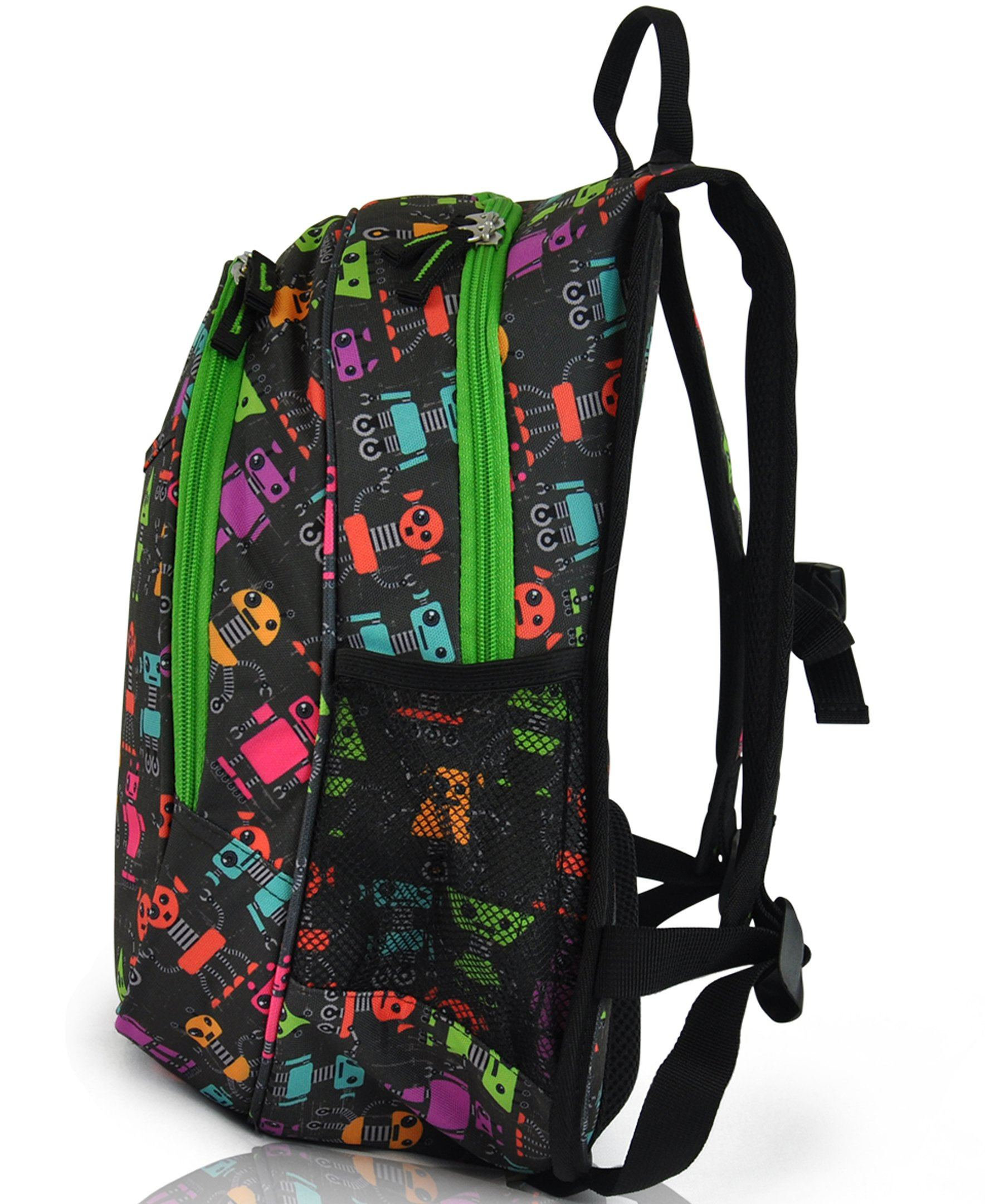 Obersee Kids Pre-School All-In-One Backpack With Cooler - Butterfly