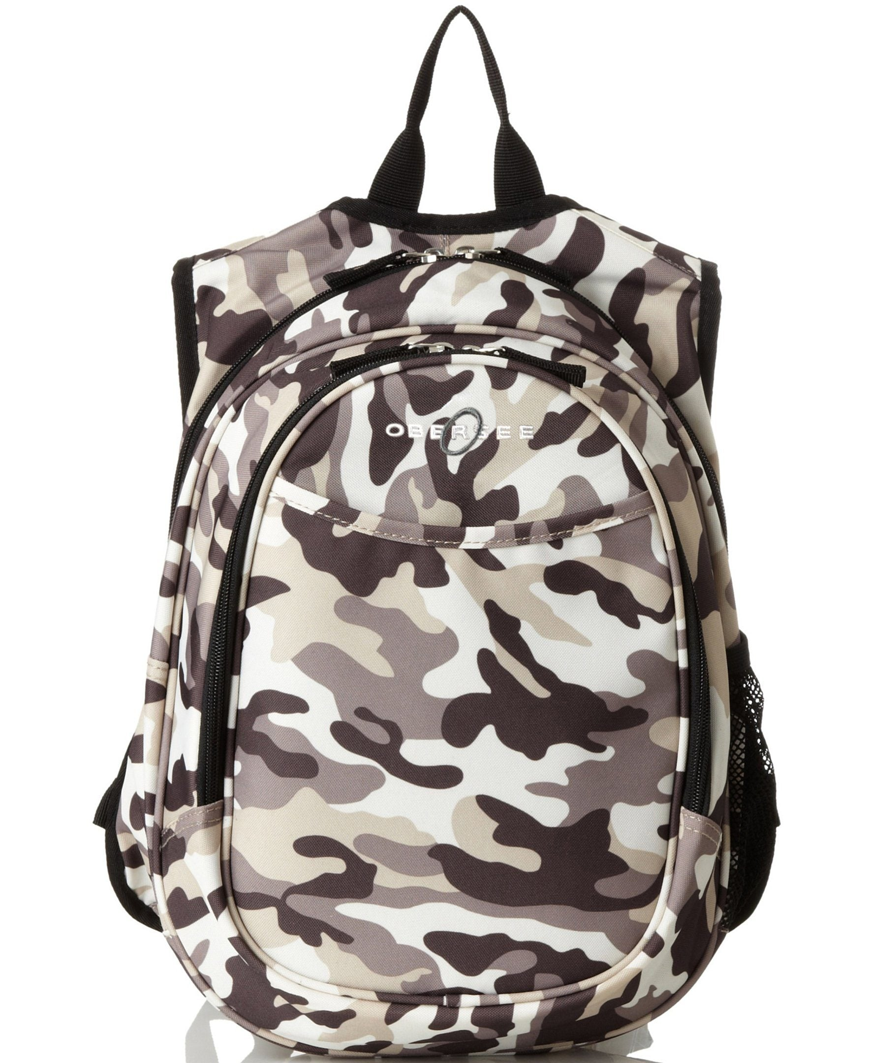 Obersee Kids Pre-School All-In-One Backpack With Cooler - Camo