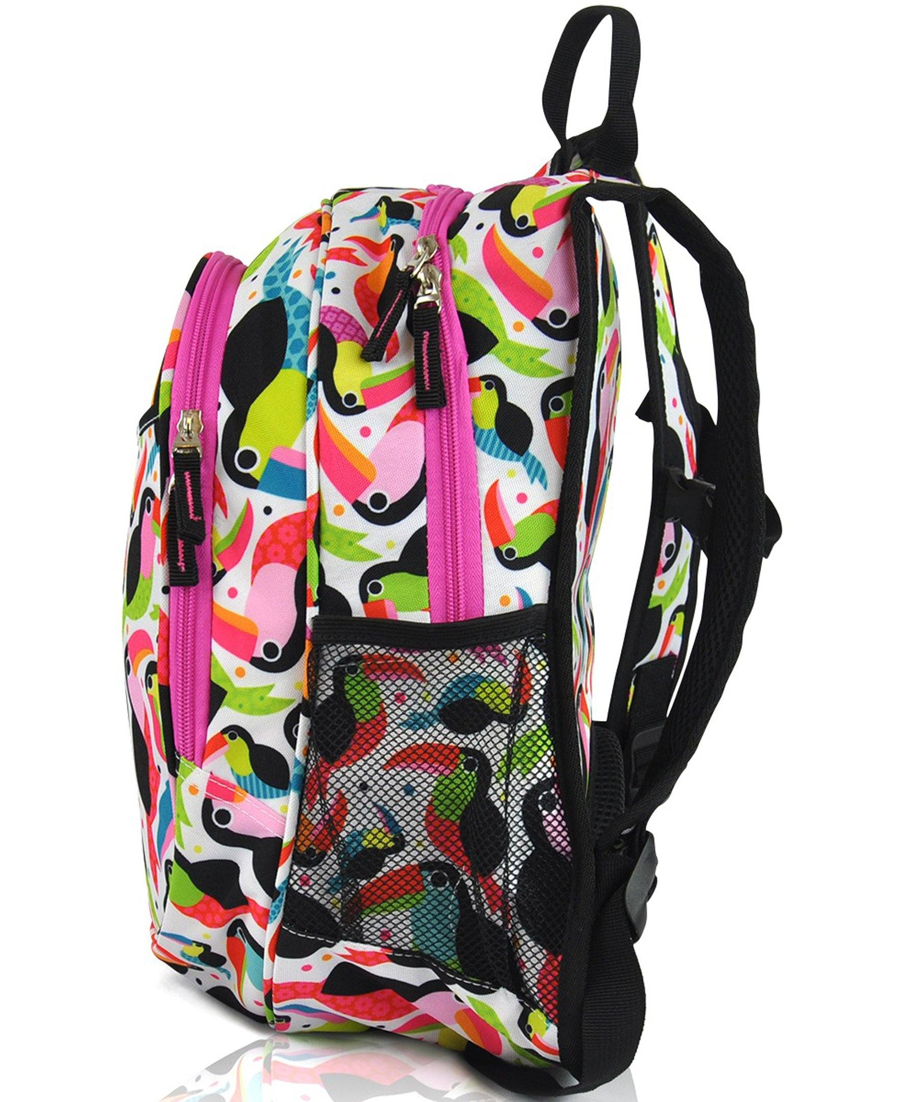 Obersee Kids Pre-School All-In-One Backpack With Cooler - Toucan