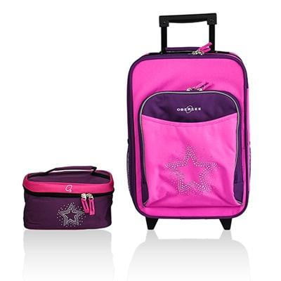 Obersee Kids Luggage and Toiletry Bag Set - Obersee