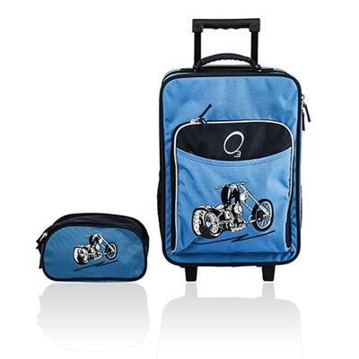 Obersee Kids Luggage and Toiletry Bag Set