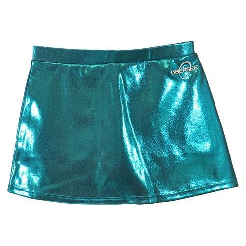 O3CHSKRT006 - Obersee Cheer and Dance Skirt - Turquoise - Obersee