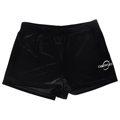 Obersee Gymnastics Shorts - Black Velvet - Obersee