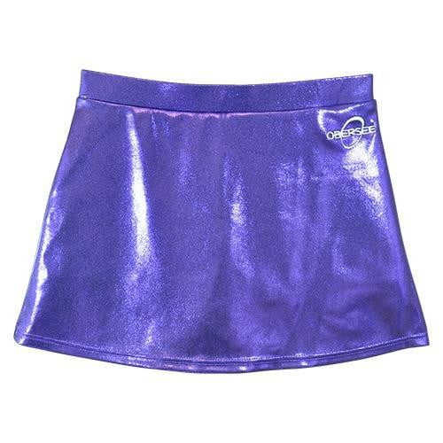 O3CHSKRT004 - Obersee Cheer and Dance Skirt - Purple - Obersee