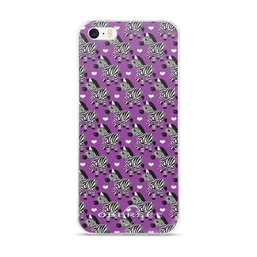 Obersee Purple Zebra iPhone Case - Obersee