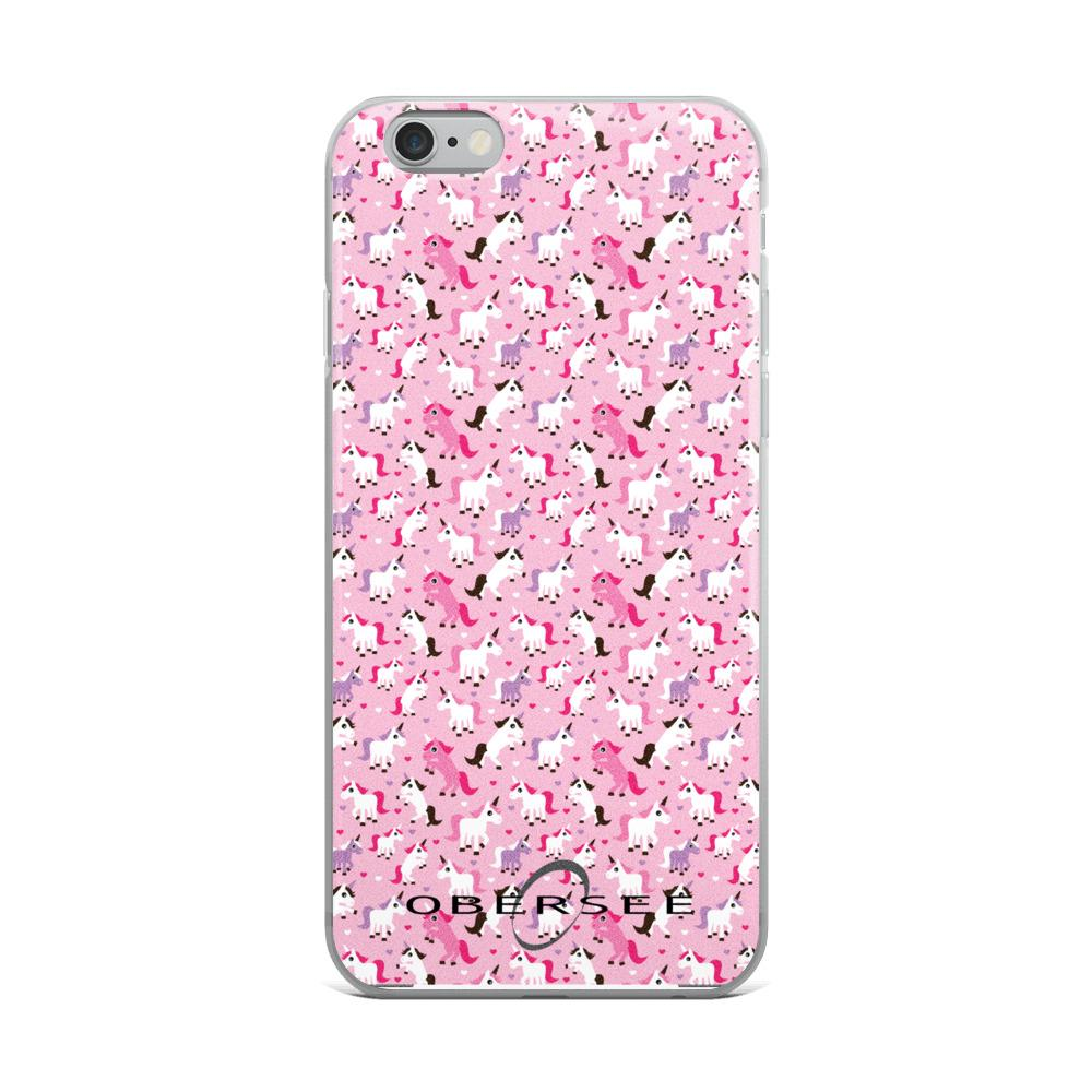 quality design 4affe 5c884 Obersee Pink Unicorn iPhone Case