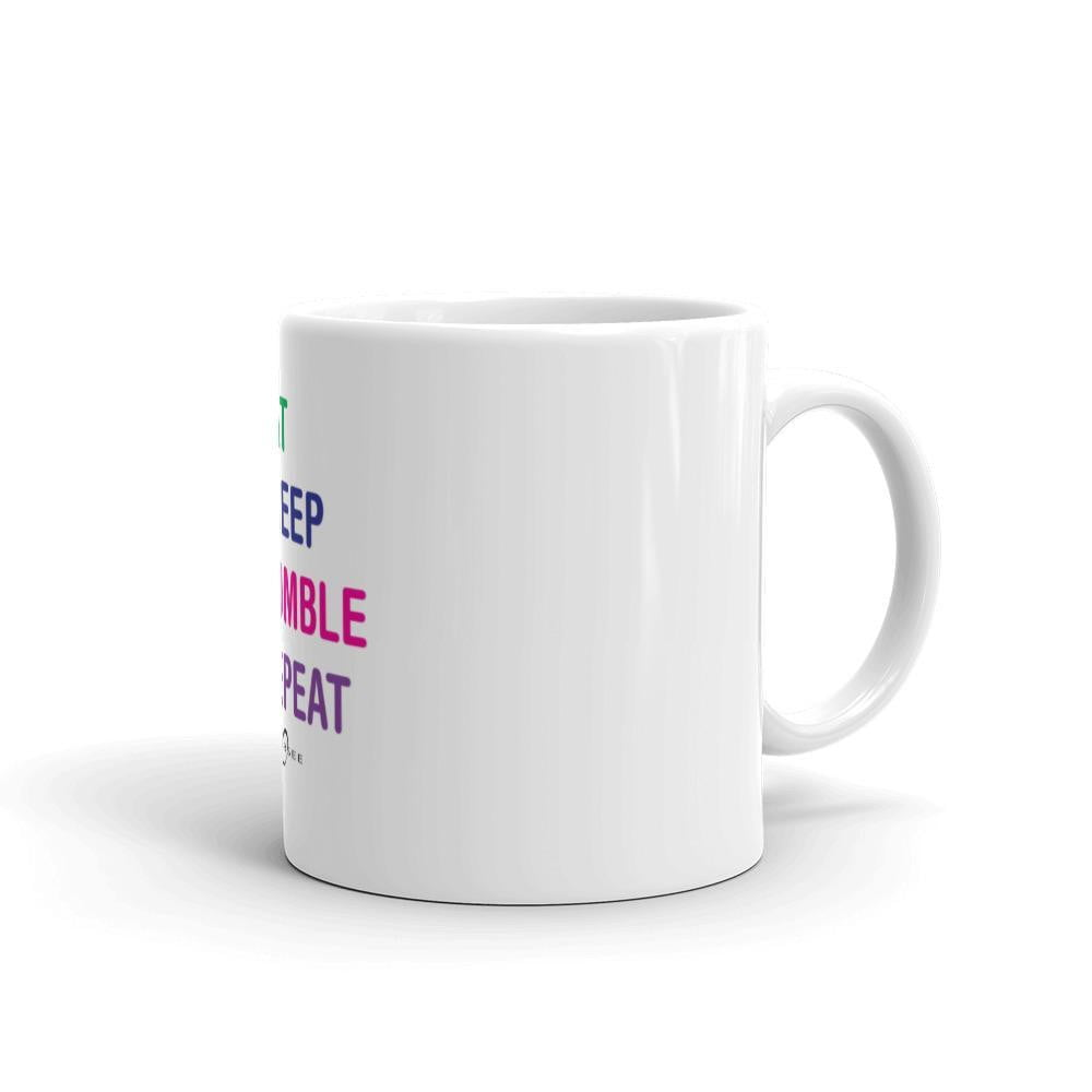 Obersee Coffee Mug - Eat Sleep Tumble Repeat - Obersee