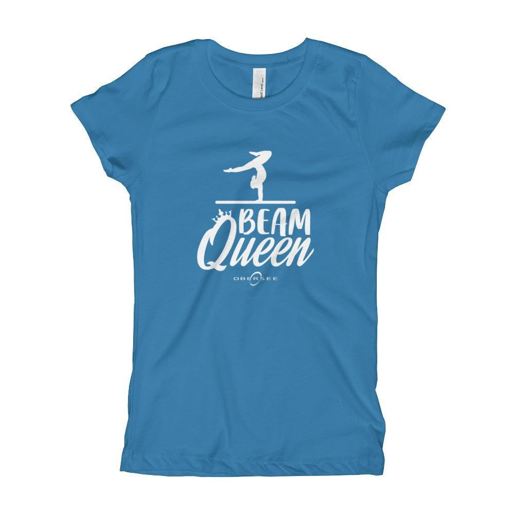 Obersee Gymnastics Girl's Youth T-Shirt - Beam Queen - Obersee