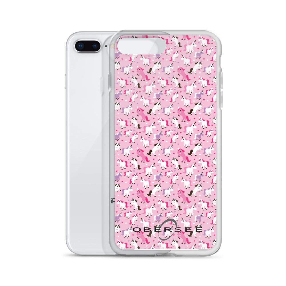 Obersee Pink Unicorn iPhone Case - Obersee