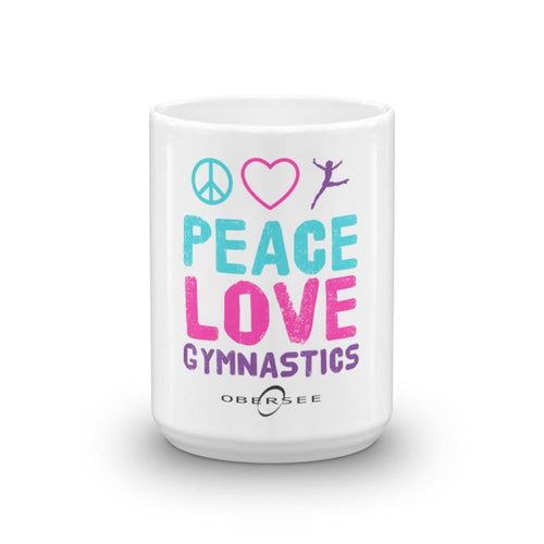 Obersee Coffee Mug - Peace Love Gymnastics - Obersee