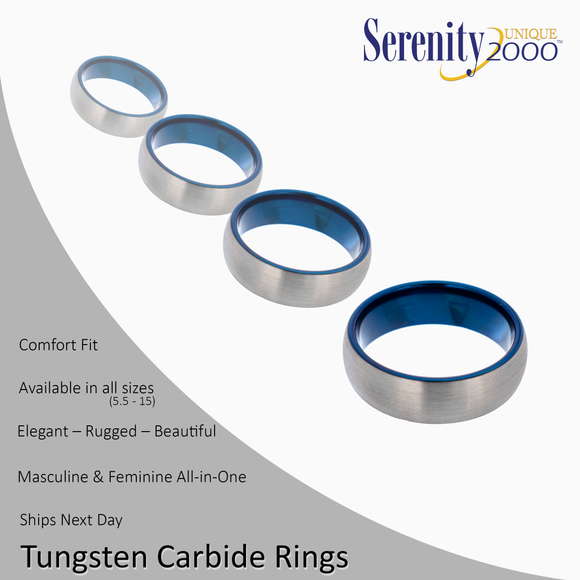 Thetis - Tungsten Carbide Rings