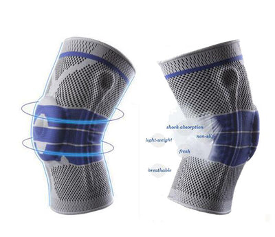 79991fe15e Buy 1 Get 1 Free Now   Nylon Silicon Knee Sleeve - Perfect Protection for  Sports