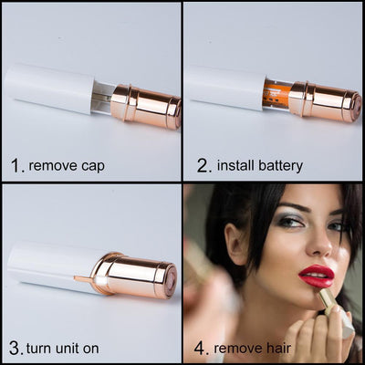18K Gold-Plated Painless Hair Remover