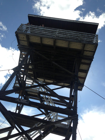 The lookout tower near our home