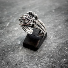 Unique Friendship Skeleton Puzzle Ring