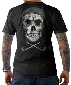 Cool Skull Golfer T Shirt