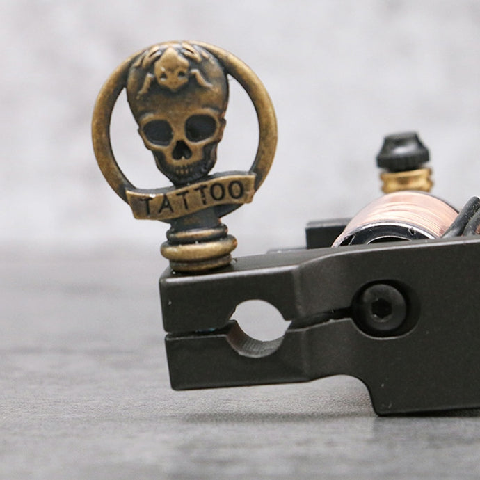 2 Pieces Skull Tattoo Handle Lock