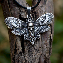 Dead Head Moth Skull Necklace