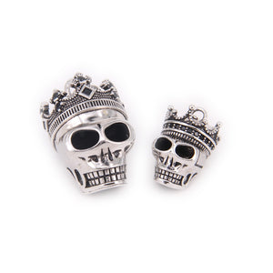 King Crown Skull Necklaces