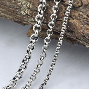925 Sterling Silver Link Chain Necklace