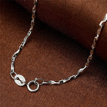 Unique 925 Sterling Silver Chain Necklace