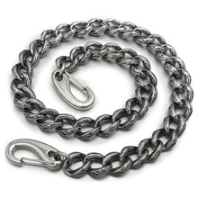 "Stainless Steel 14""-36"" Men Biker Rock Punk Wallet Chain"