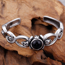 Rocker Stainless Steel Skull Cuff Bracelet Bangle