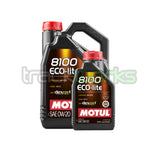 8100 Eco-Lite 0W20 Synthetic Motor Oil - Trackwerks