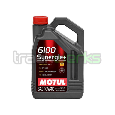6100 Synergie+ 10W40 Technosynthetic Motor Oil 5L
