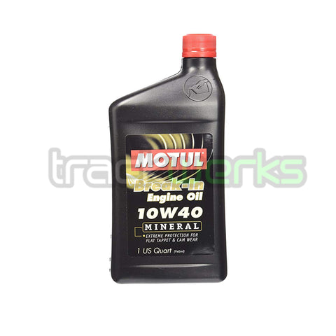Break-In Oil 10W40 Synthetic Motor Oil 1Qt - Trackwerks