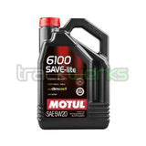 6100 Save-Lite 5W20 Technosynthetic Motor Oil - Trackwerks