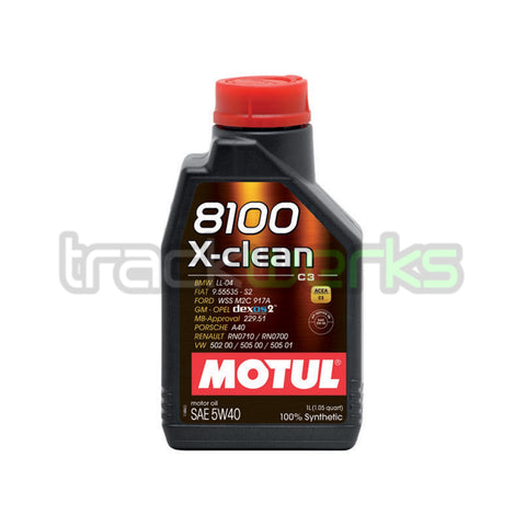 8100 X-Clean 5W40 Synthetic Motor Oil