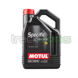 Specific Audi/VW 5w40 Synthetic Motor Oil