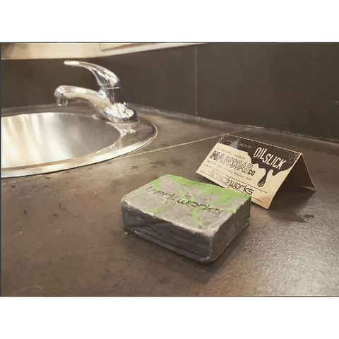 Mansoap x Trackwerks Exclusive Oil Slick Mechanics Soap - Trackwerks