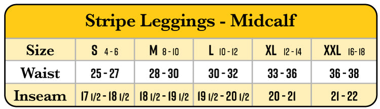 Leggings Fit Guide
