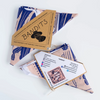 Fair trade bandana made by artisans in India that supports nonprofits.