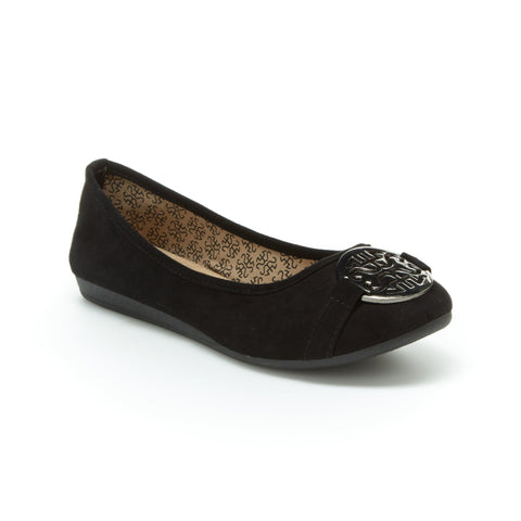 Anabel | Black Suede